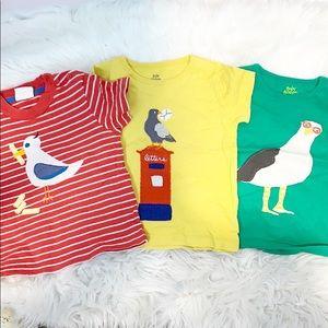 Baby Boden Bundle Lot of Appliqué T-Shirts